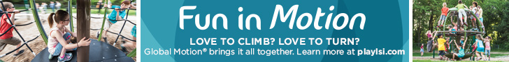 Landscape Structures - Fun in Motion - Love to Climb? Love to Turn? - Global Motion brings it all together.