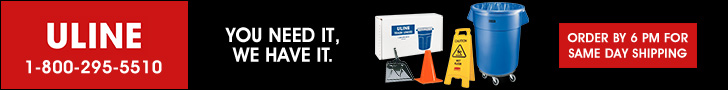 ULINE - You Need It, We Have It. - Order by 6PM for Same Day Shipping