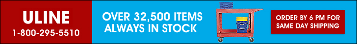 ULINE - Over 32,500 Items Always in Stock