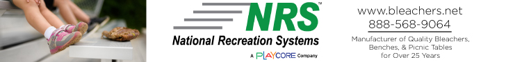 National Recreation Systems - Manufacturer of Quality Bleachers, Benches & Picnic Tables for Over 25 Years.