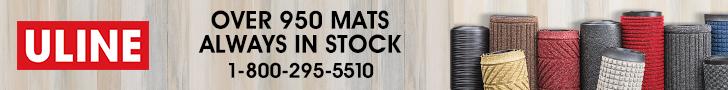 ULINE - Over 950 Mats Always in Stock