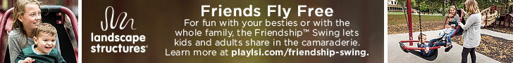 Landscape Structures - Friends Fly Free - The Friendship™ Swing