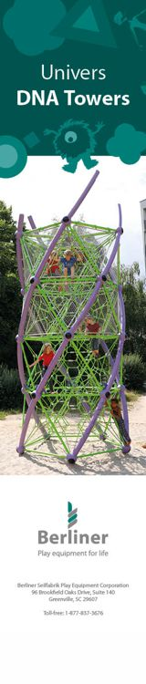 Berliner - Univers DNA Towers - Play Equipment for Life