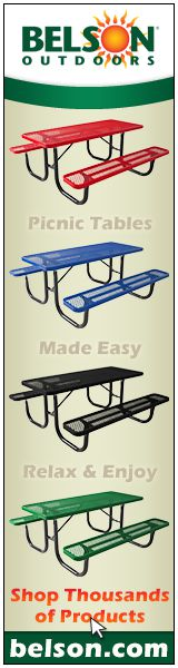 Belson - Picnic Tables Made Easy - Relax & Enjoy - See Thousands of Products