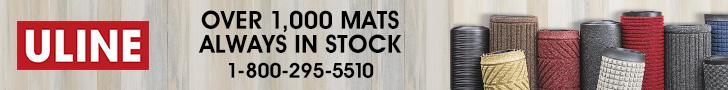 ULINE - Over 1,000 Mats Always in Stock - 1-800-295-5510