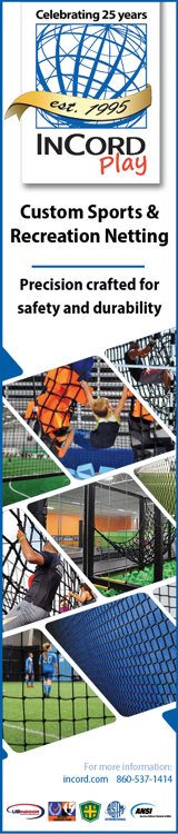 InCord Play Custom Sports & Recreation Netting - Precision crafted for safety and durability