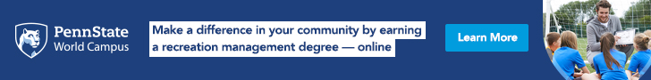 Penn State World Campus - Make a difference in your community by earning a recreation management degree — online