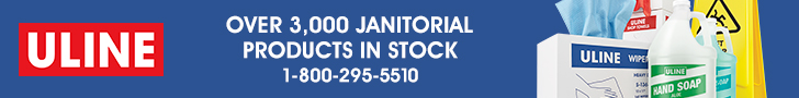 ULINE - Over 3,000 Janitorial Products In Stock