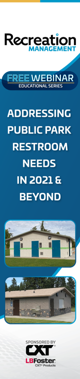 Free Webinar! Addressing Park Restroom Needs In 2021 & Beyond