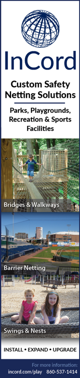 InCord Play - Custom Safety Netting Solutions - Parks, Playgrounds, Recreation & Sports Facilities - Bridges & Walkways - Barrier Netting - Swings & Nests